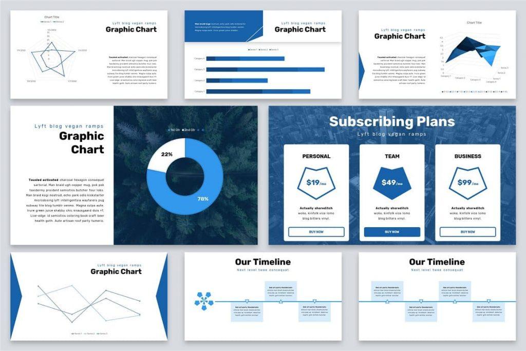 Graphic Slides Brio Business Powerpoint Template.
