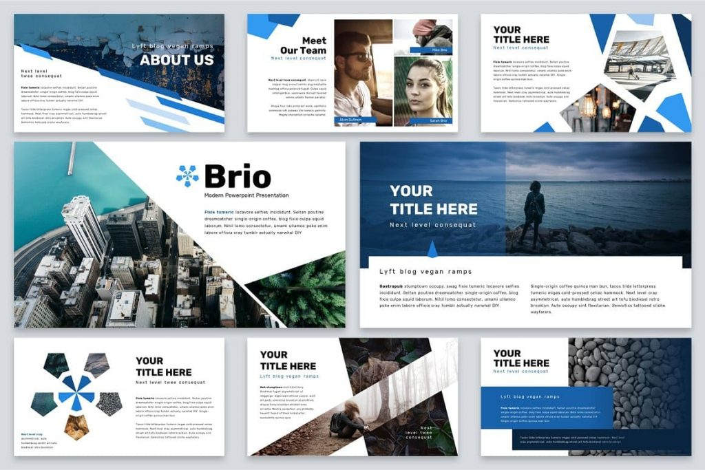Our Team Brio Business Powerpoint Template.