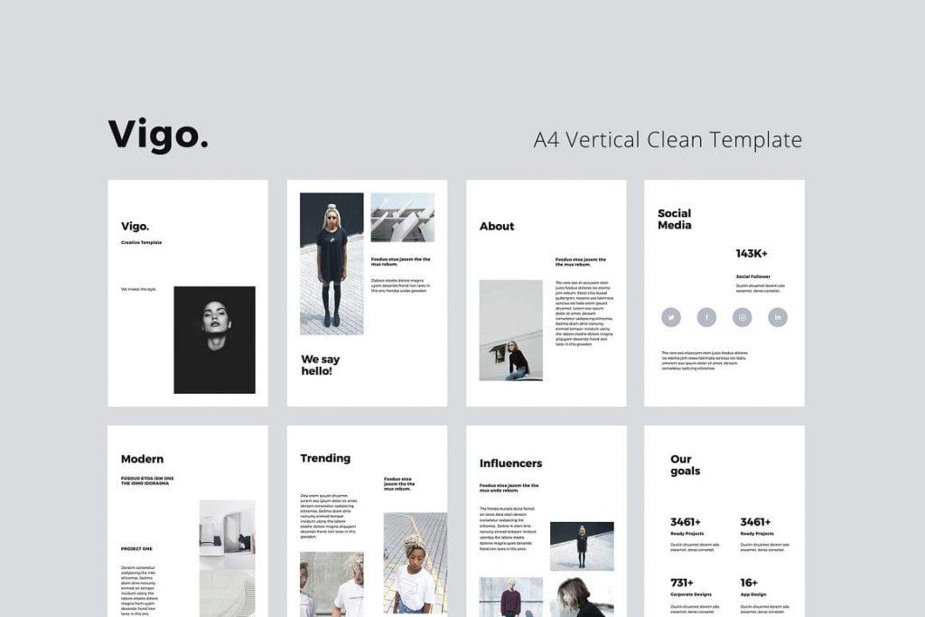 Introducing VIGO Vertical Google Slides Template.