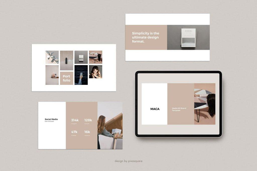 MACA - Media Kit Keynote Template.