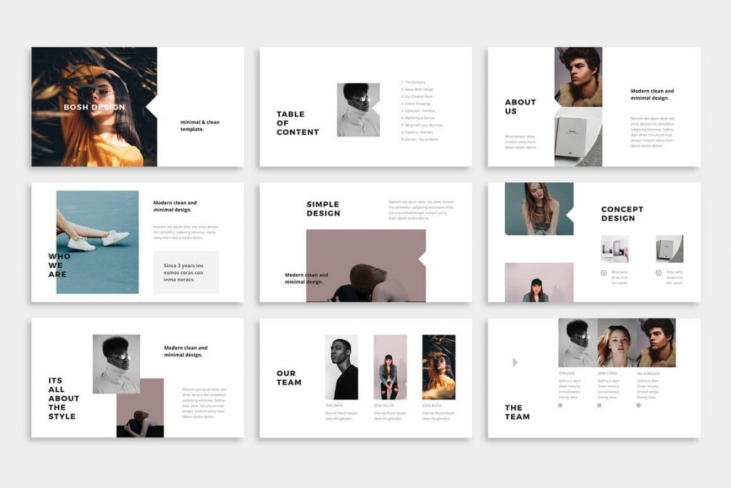 Introducing BOSH - Powerpoint Template.