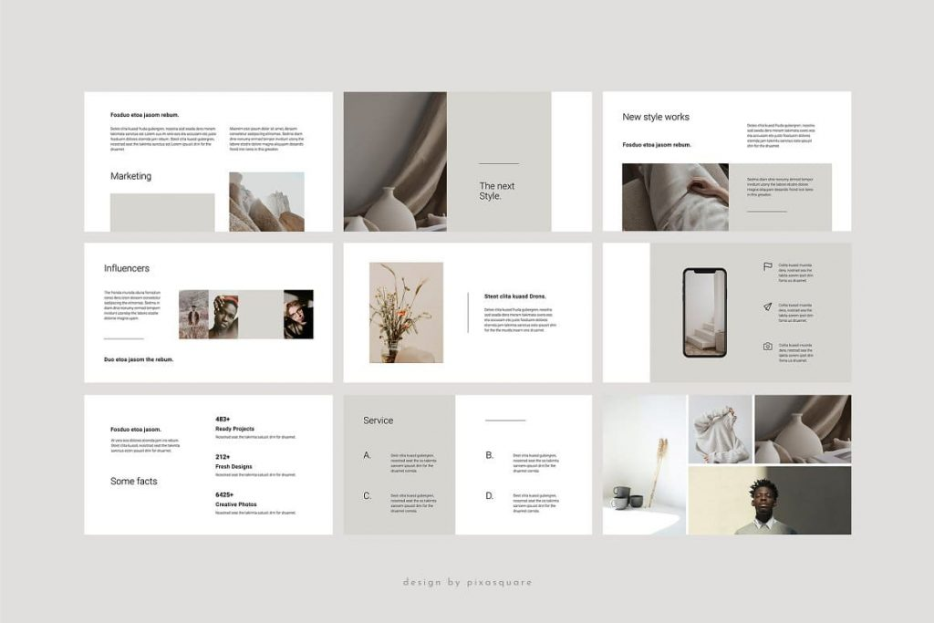 Slide Content BORD - Neutral Keynote Template.