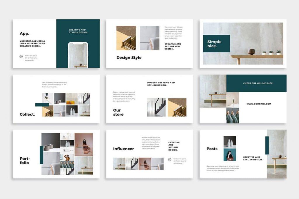 70+ NOYA Slides - Powerpoint Template.