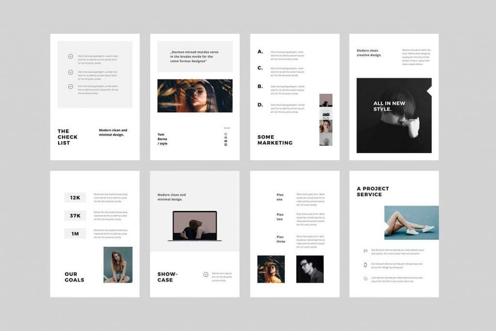 BOSH Slide Content - Keynote A4 Vertical Template.