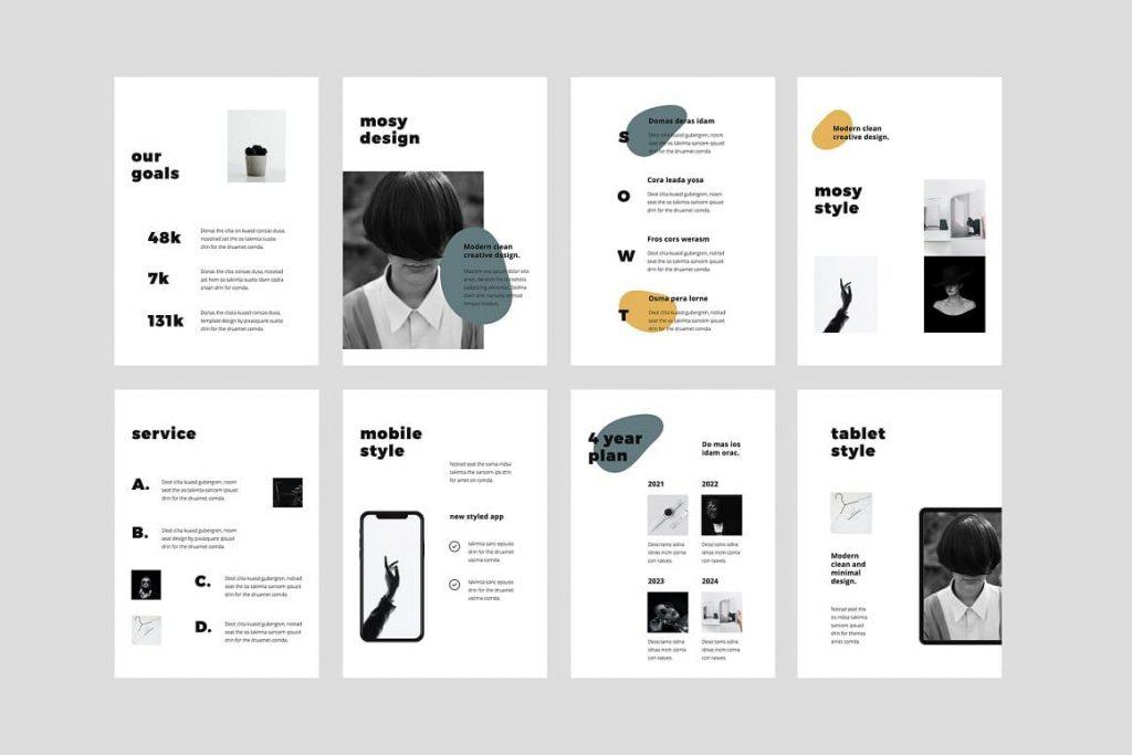 Sample Slides MOSY - Keynote A4 Vertical Template.
