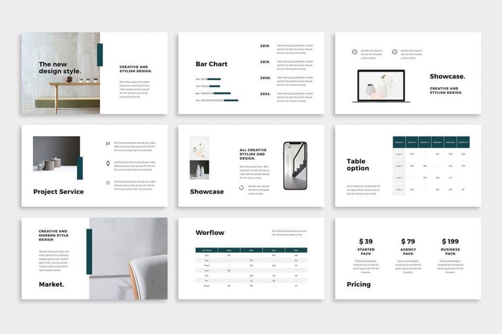 NOYA Creative Layout - Powerpoint Template.