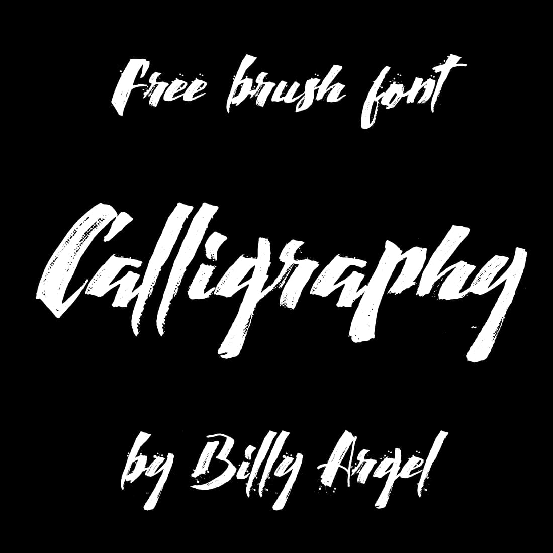 MasterBundles Main Cover Image for Free Calligraphy font.