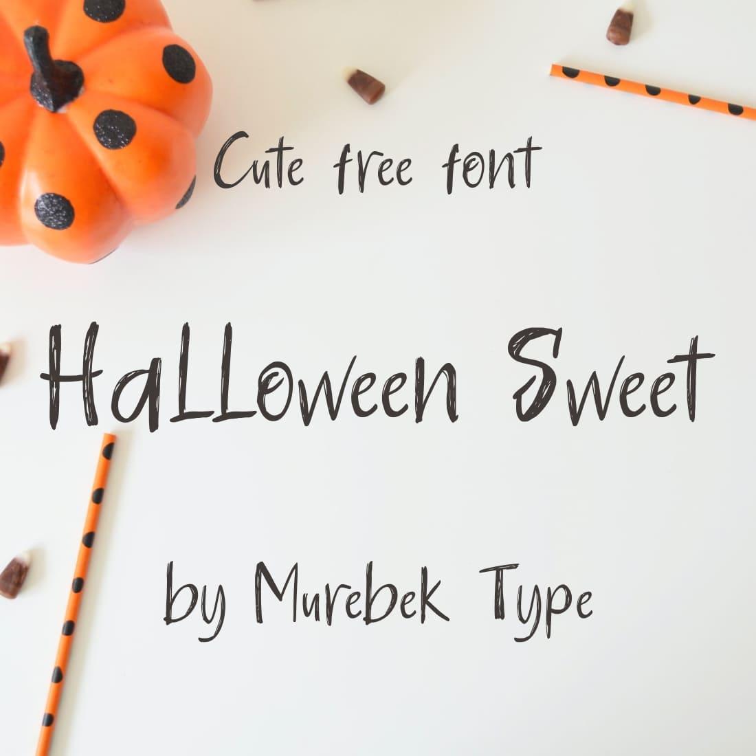 MasterBundles Cover Image for Halloween Sweet - cute free halloween font.