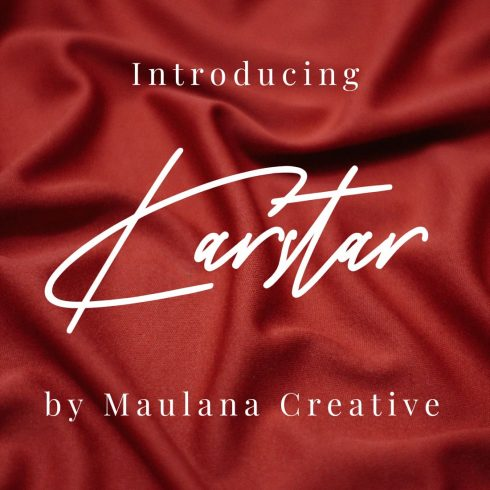 Main Cover for Karstar - sign painter font free by MasterBundles.