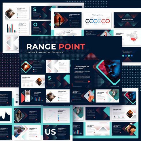 Range Point Powerpoint Presentation Template by MasterBundles.