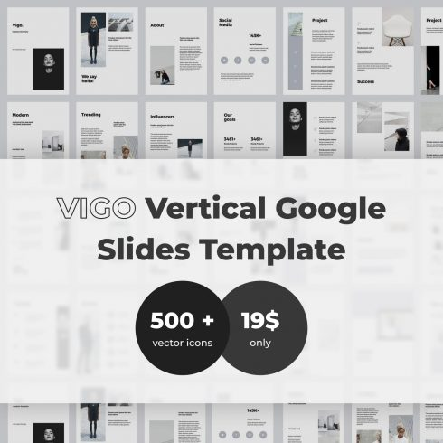 VIGO Vertical Google Slides Template by MasterBundles.
