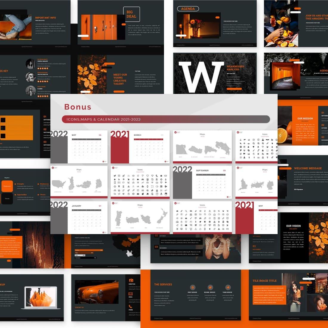 Agenda Powerpoint Presentation.