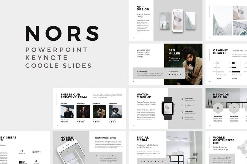 NORS - Powerpoint Presentation Template.