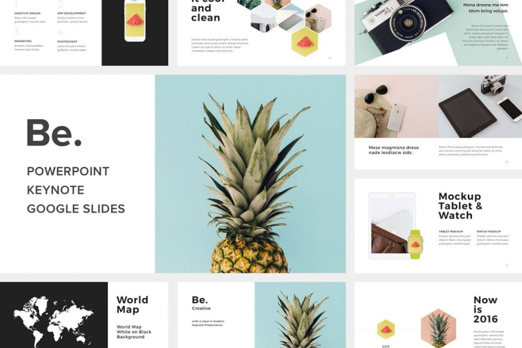 BE - Powerpoint Presentation Template.