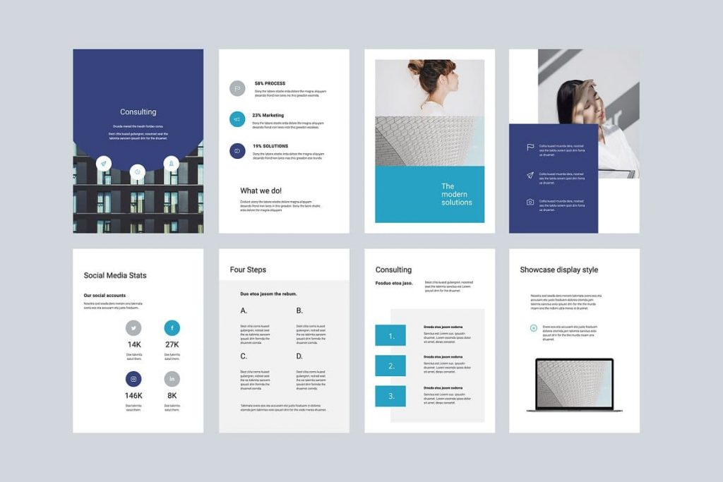 All elements are fully editable by the ARON Vertical Google Slides Template.
