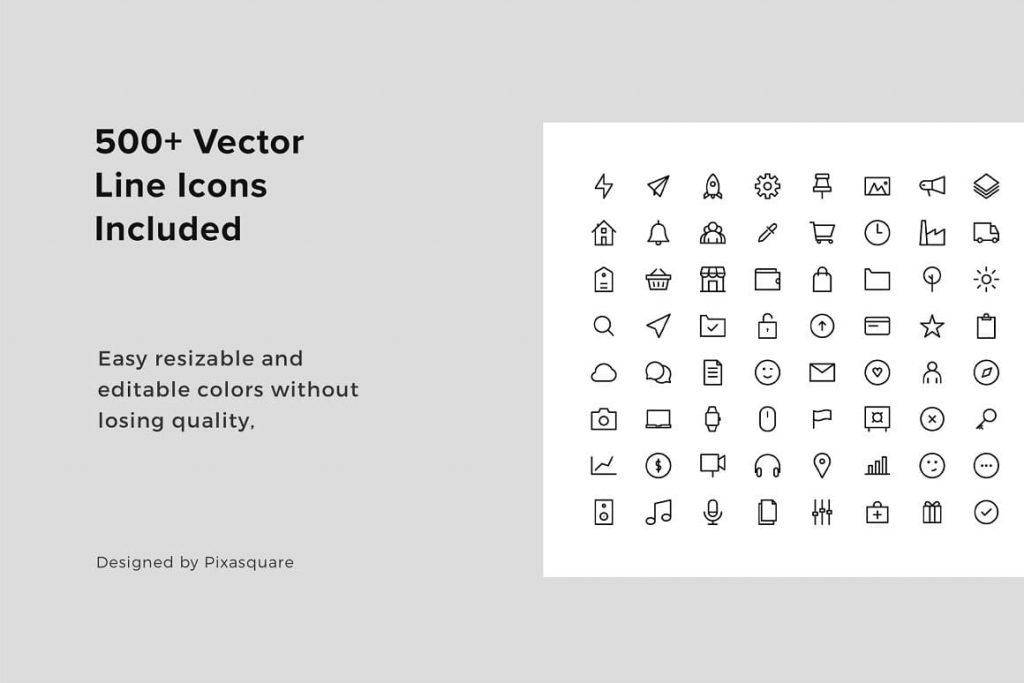 BONUS 500+ CABO Vector Icons - Keynote Modern Template.