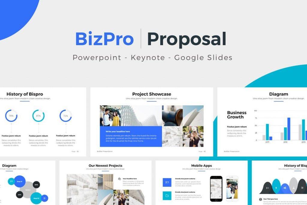 BIZPRO - Proposal Powerpoint Presentation Template.