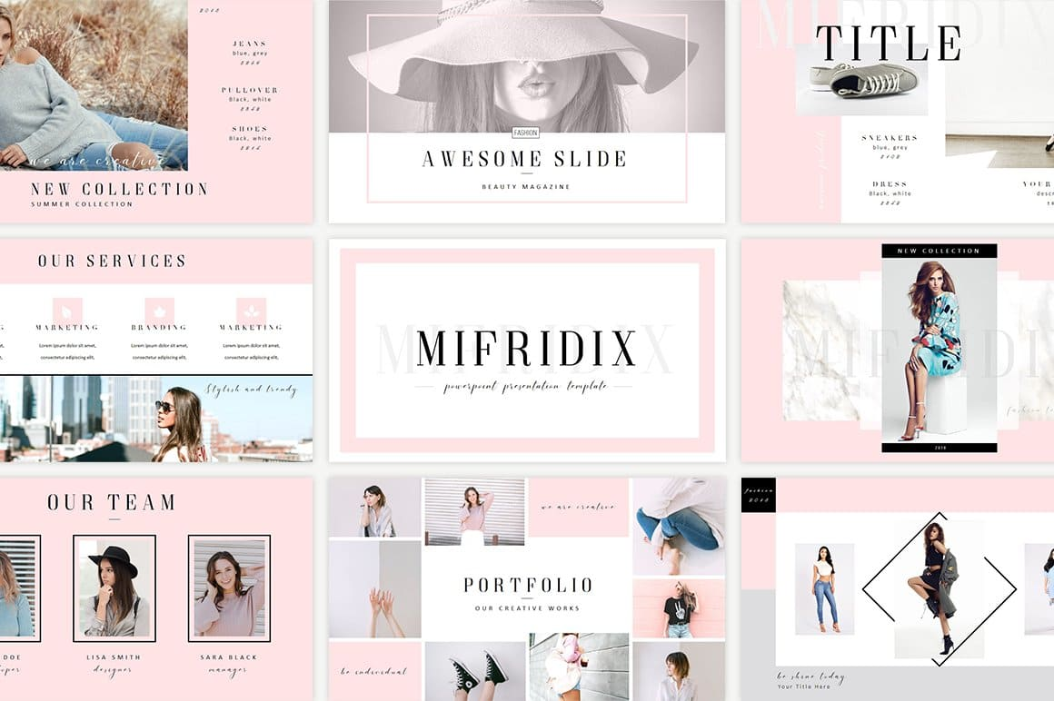 Cover Mifridix - Powerpoint Template.