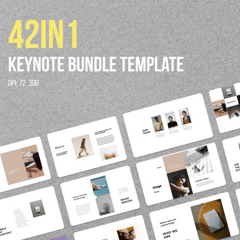 42in1 Keynote Bundle Template by MasterBundles.