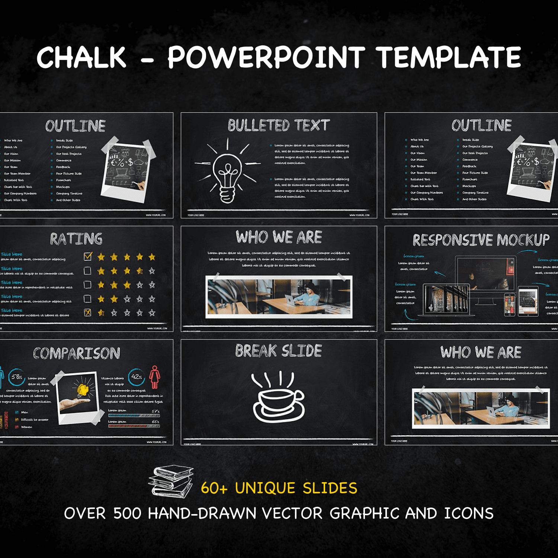 Chalk - Powerpoint Template by MasterBundles.