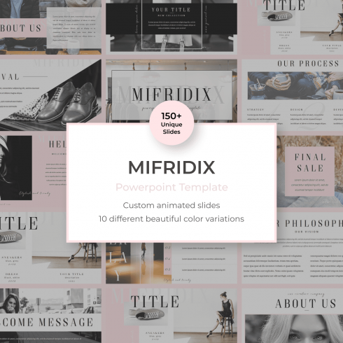 Mifridix - Powerpoint Template by MasterBundles.
