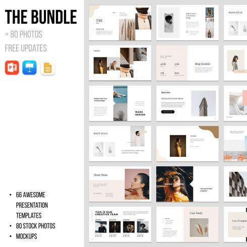 1 The Bundle 80 Photos FREE Updates 1500х1500