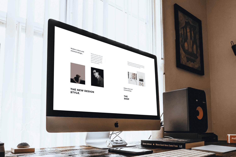 BOSH - Keynote A4 Vertical Template by MasterBundles Desktop preview mockup image.