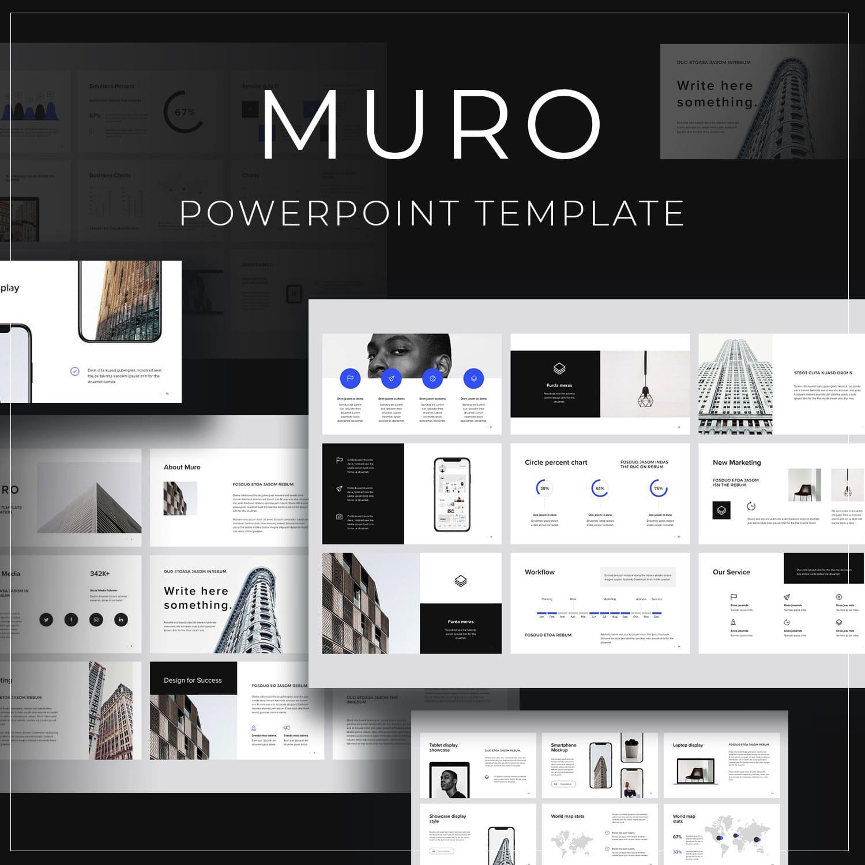 MURO - Powerpoint Template by MasterBundles.