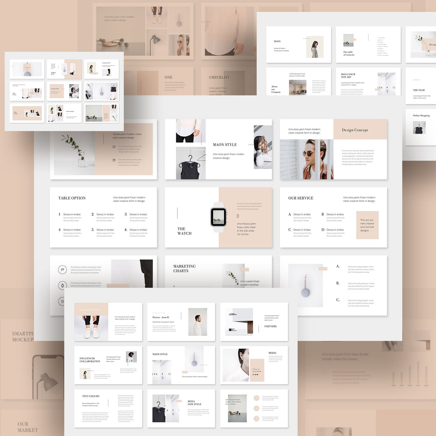 MAON - Powerpoint Template.