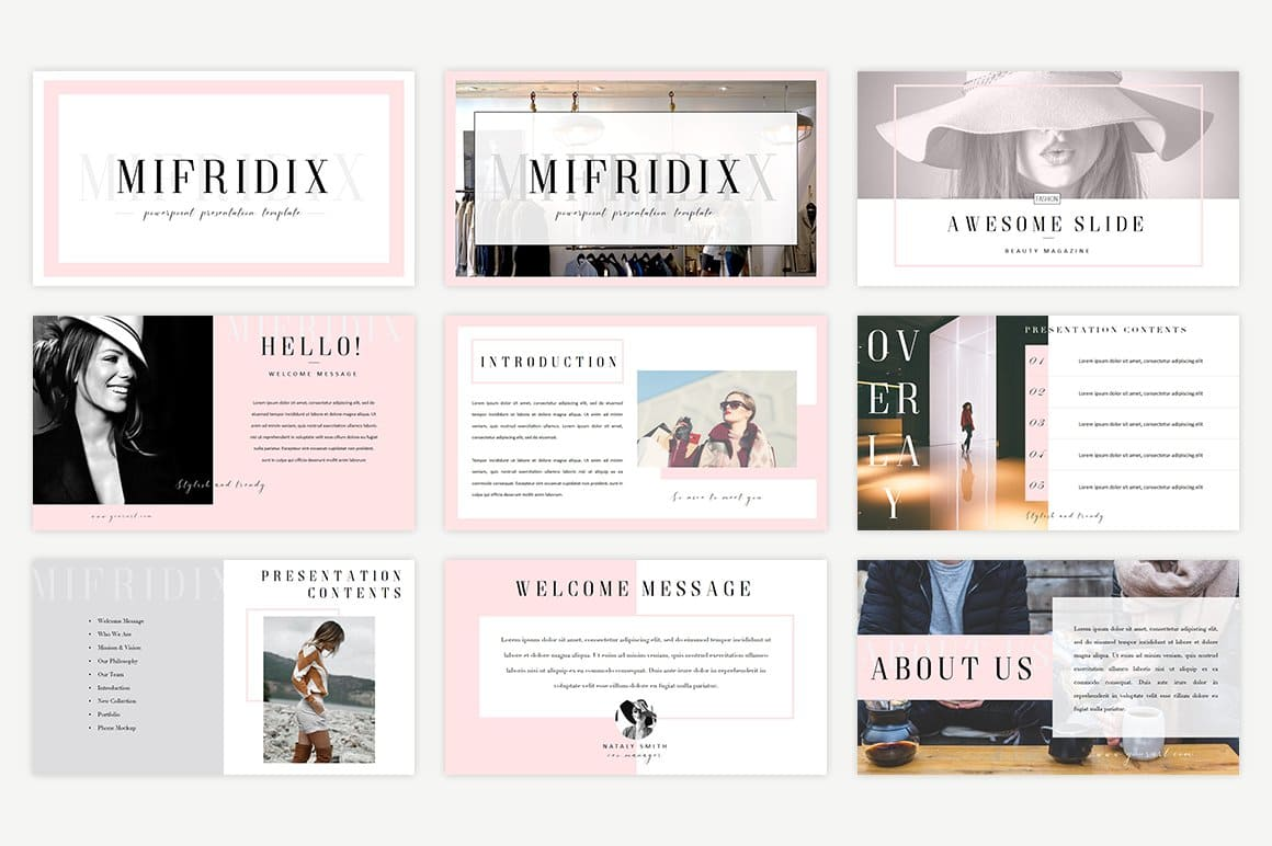 Mifridix Introductory Slides - Powerpoint Template.