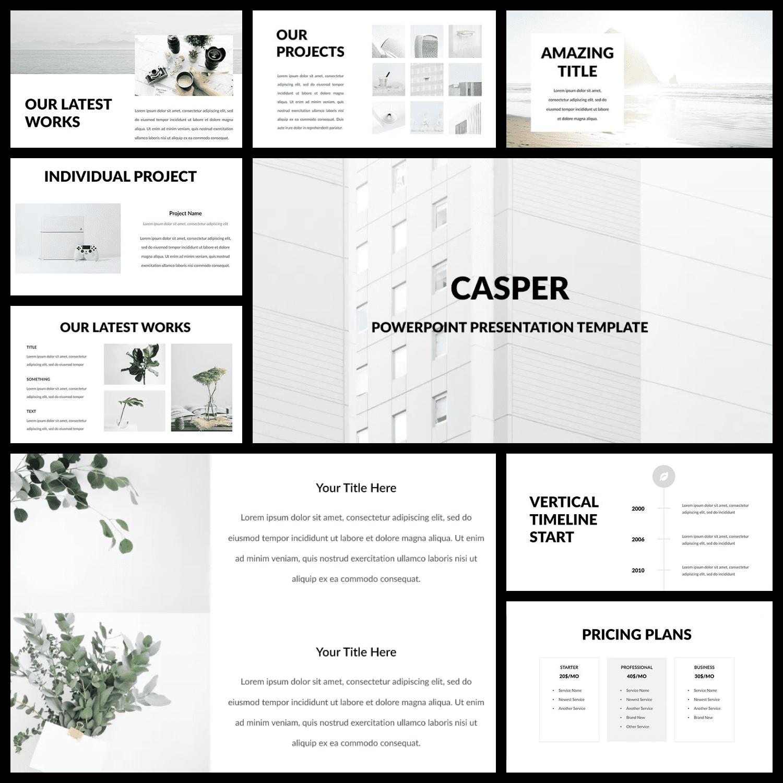 Casper - Powerpoint Template.