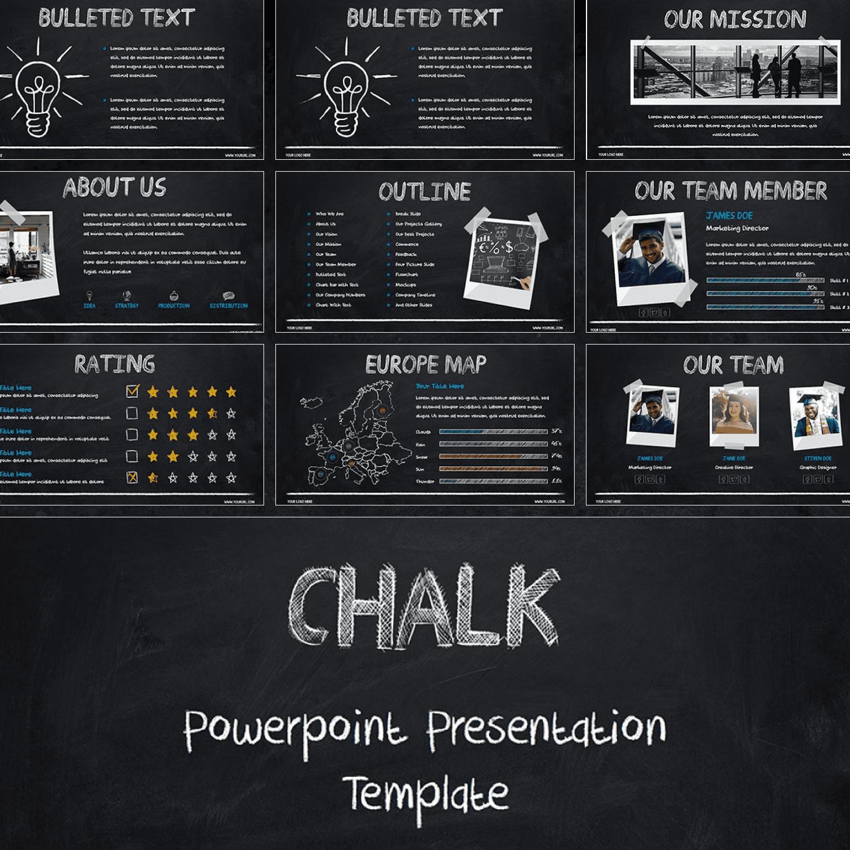 Chalk - Powerpoint Template.