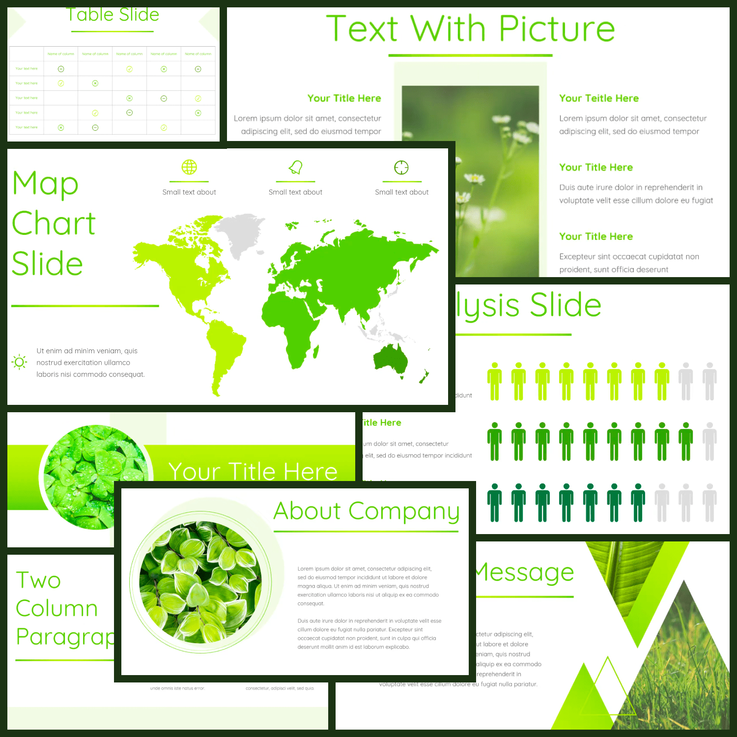 Leaf - Powerpoint Template.