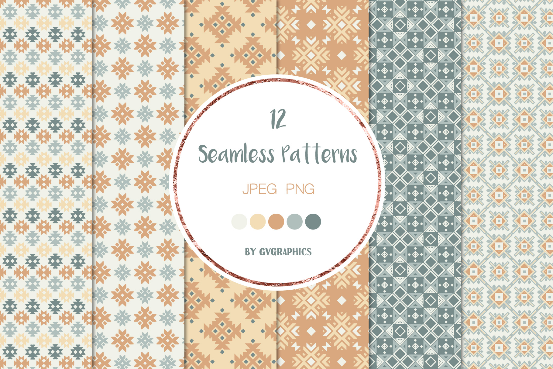 Examples Geometry Seamless Pattern.
