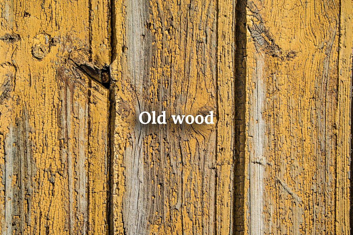 Fall Leaves Scene Creator old wood texture