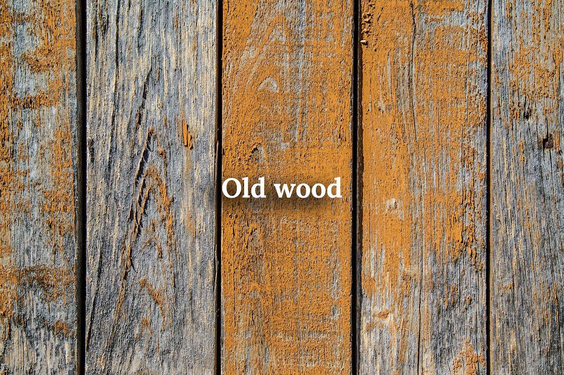 Fall Leaves Scene Creator wood texture.