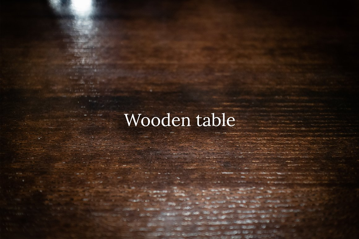 Fall Leaves Scene Creator wooden table texture.