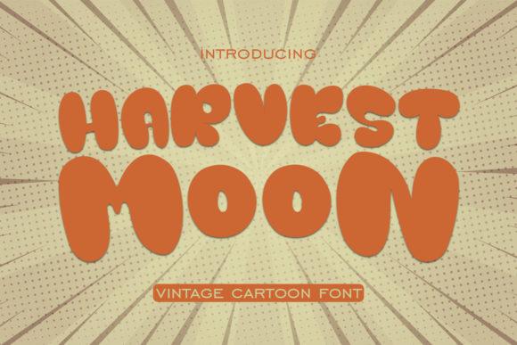 Harvest Moon is a vintage display font.