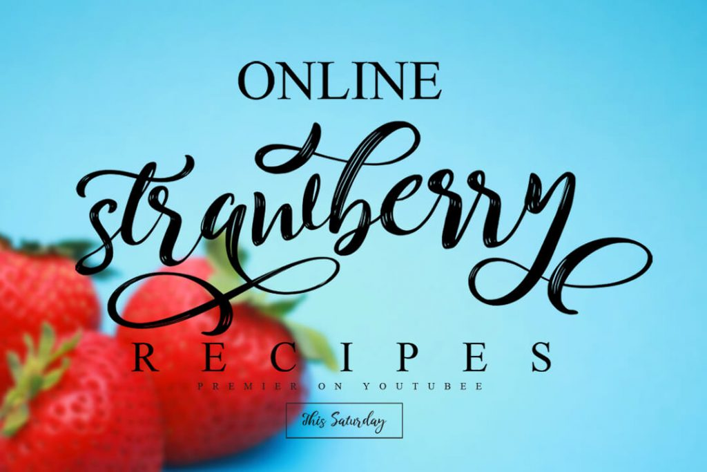 Awesome Collage Image Preview for Kitahara Brush Script Font.