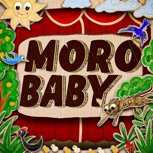 MoroBaby Fancy Font Cover Collage Image.