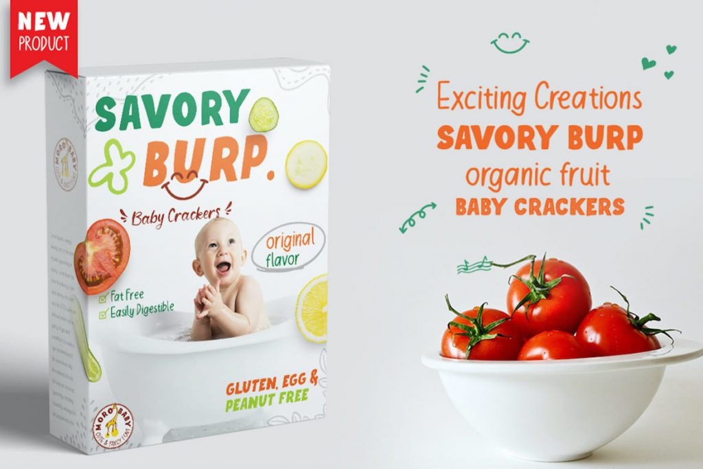 Moro Baby Fancy Font Box example preview image.