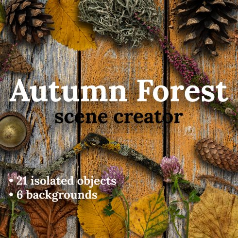 Fall Leaves Scene Creator preview image.
