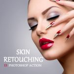 Skin Retouching 15 Photoshop Action Title