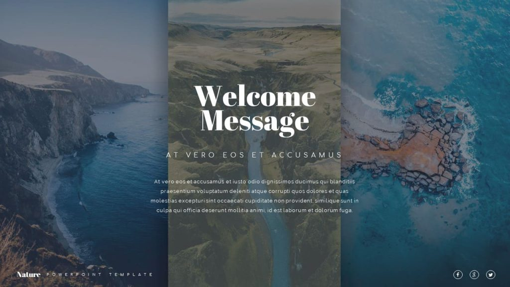 Introduction to Nature Presentation Template.