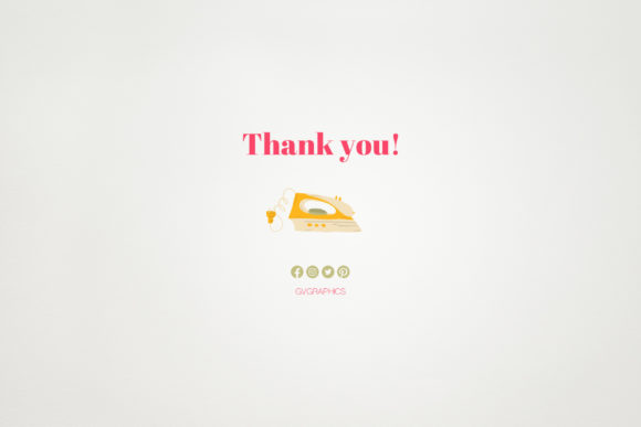 Thank You Sewing Knitting and Flowers Seamless Patterns.