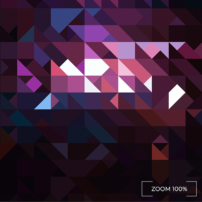 30 Abstract Triangle Mosaic Backgrounds preview images.