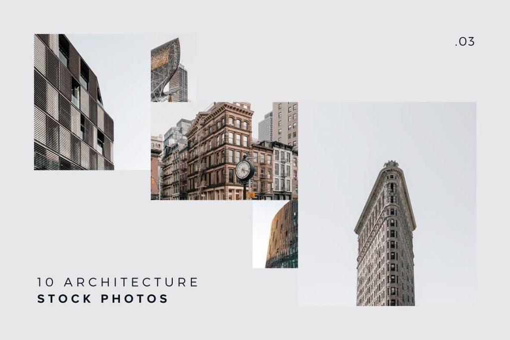 Bonus 10 Architecture Photos Pack.