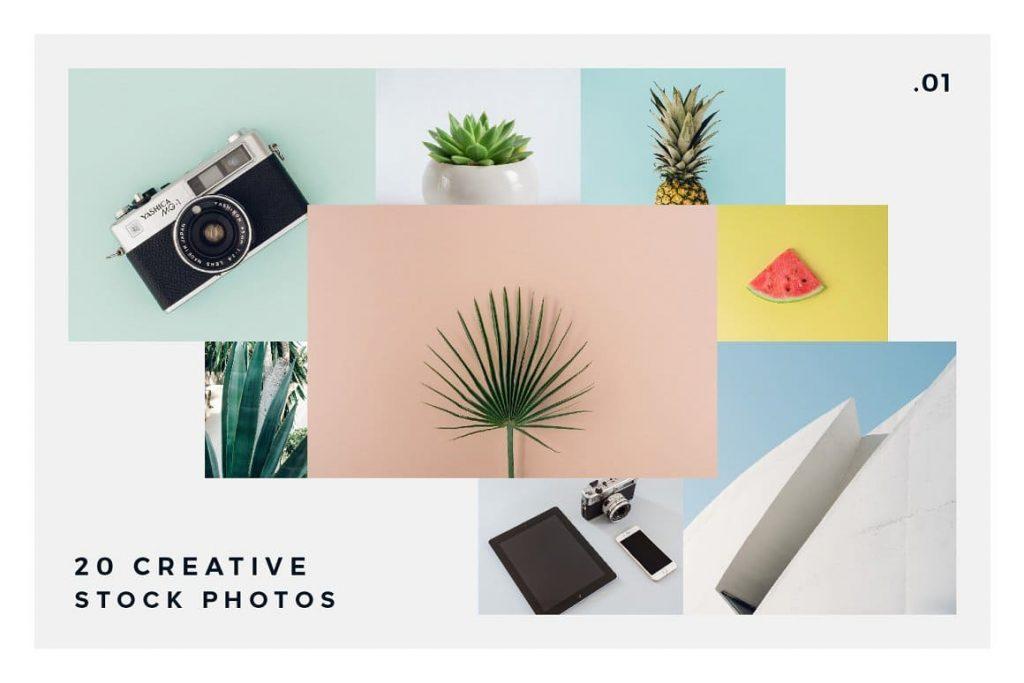 Bonus 20 Creative Stock Photos vol. 1.