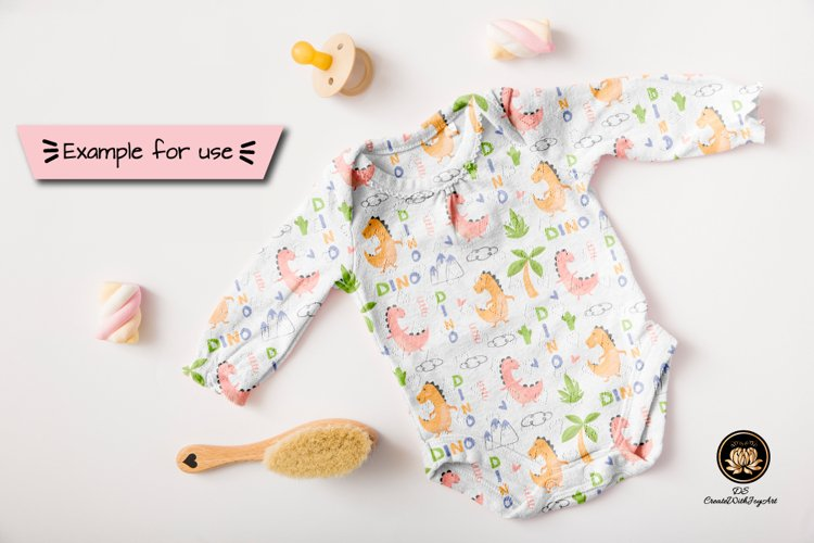 Cool dino illustration for nursery t-shirt, kids apparel, lovely design for invitations, children's birthday decoration and posters.