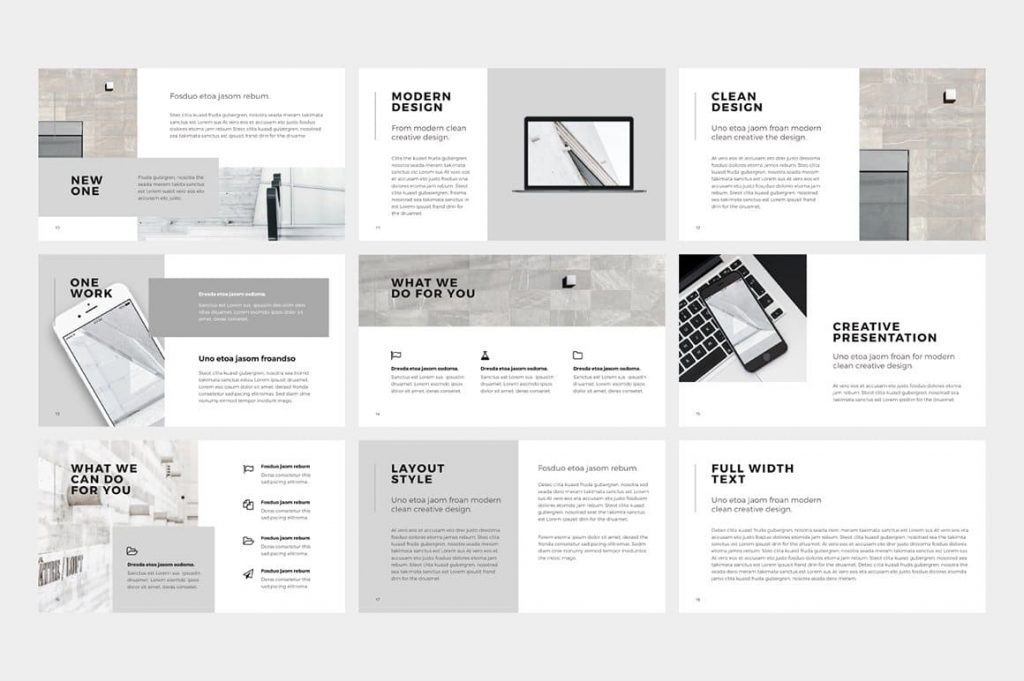 Includes 20 NORS Powerpoint Template photos.